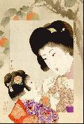Yamamoto Shoun, Helping mother, 1906